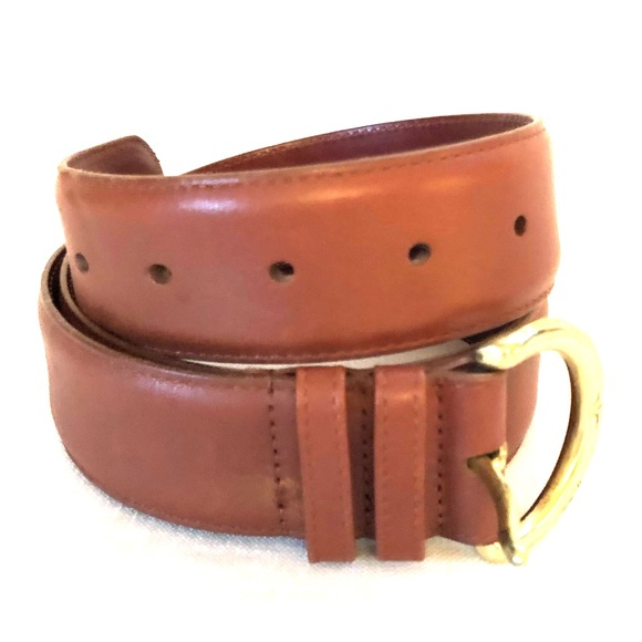 COACH - leather belt - Sz M